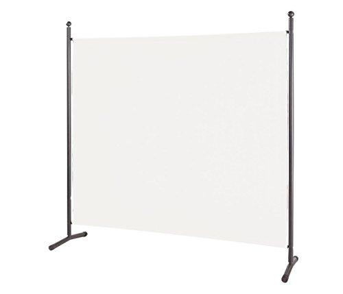 Stellwand 178x178cm Paravent Raumteiler Trennwand Sichtschutz Weiß