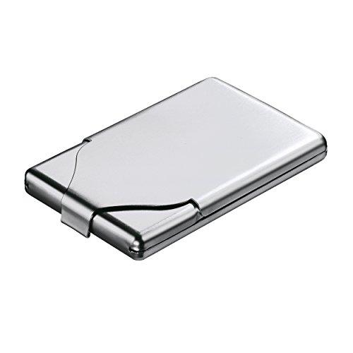 REFLECTS REFLECTS Zigaretten-/ Visitenkartenbox aus Metall TOUGH mattsilber