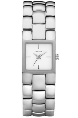 DKNY Ladies Watch NY8033 with Silver Dial and Silver Stainless Steel Bracelet