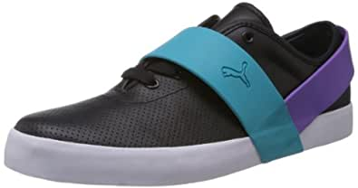 Puma Men's Future Puma Strap Lo Black Casual Sneakers - 9 UK/India (43 EU)