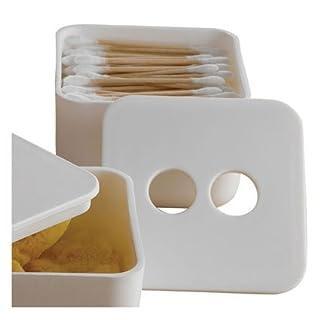 Design Ideas EcoGen Bath Box, Small, White by Design Ideas