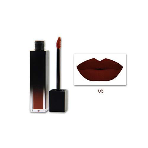 Lipgloss,Rabatt,PorLous 2019 Beliebt 1 STÜCK Shiny Matte Lippenstift Wasserdichte Pigment Brown Nude Long Lasting Lipstick Feuchtigkeitsspendend 5