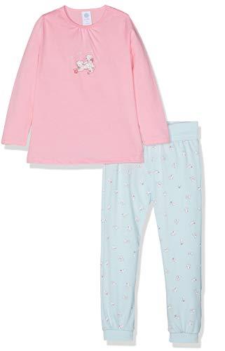 Sanetta Baby-Mädchen Pyjama Long Zweiteiliger Schlafanzug, Rosa (scampi 3950), 86
