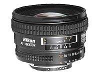 Nikon AF-Nikkor 20mm F2.8 D - Objetivo con montura para Nikon (distancia...