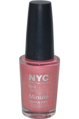 New York Color In A New York Color Minute Quick Dry Nail Polish, Wall Street, 0.33 Fluid Ounce by N.Y.C.