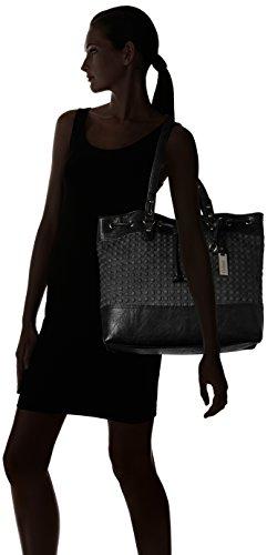 Gabor - BELLA, Borsa shopper Donna Nero (Schwarz (schwarz 60))