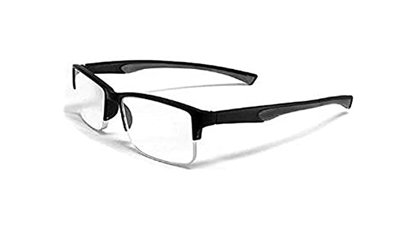 8188a038c1 Buy VonZipper Calabria 6904 Semi-rimless Flexie Reading Glasses in Grey    +1.25 Online at Low Prices in India - Amazon.in