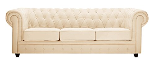 Chester Sofa Beige - Three Seater