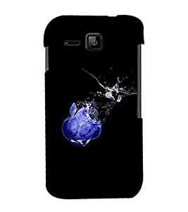 printtech Apple Back Case Cover for Micromax Bolt S301