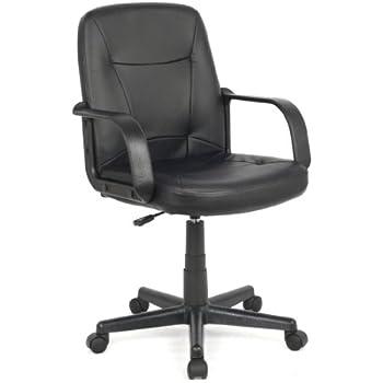 SixBros. Sedia ufficio - sedia girevole nera - H-8365L-2/1323