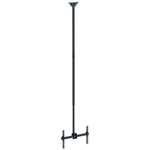 TV Deckenhalterung - 2,5m bis 3m Stange - Vollbewegliche Fernsehhalterung - TV VESA Halterung 32 bis 75 Zoll (81cm - 178cm)