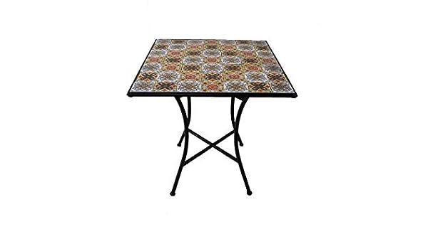 Casa Ravello 2421802 Galileo carrémosaïque Table PTXikZuO