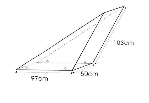 Royal Gardineer tessuti-TELO DI COPERTURA XXL circa per piscina trampolino Ø 4,6 M altro.