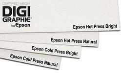 Epson C13S042310 Cold press bright inkjet 340g/m2 A3+ 25 Blatt