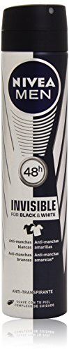 Nivea Men Invisible For Black&White Antitranspirante - 20 cl