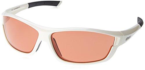 Uvex Sport Style 611 Vl Occhiali Da Ciclismo Fotocromatico (Bianco-Rosso)