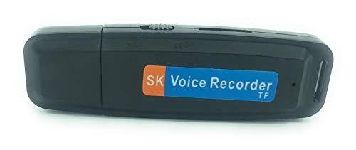 Pendrive mini grabador voz memoria USB. Grabadora