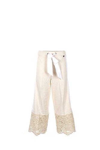Pantalone Donna Twin-set 46 Bianco Ps7292 1/7 Primavera Estate 2017