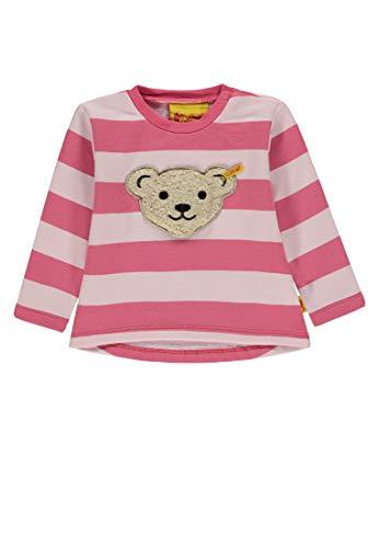 Steiff Baby-Mädchen Sweatshirt, (Barely Pink|Rose 2560), 92