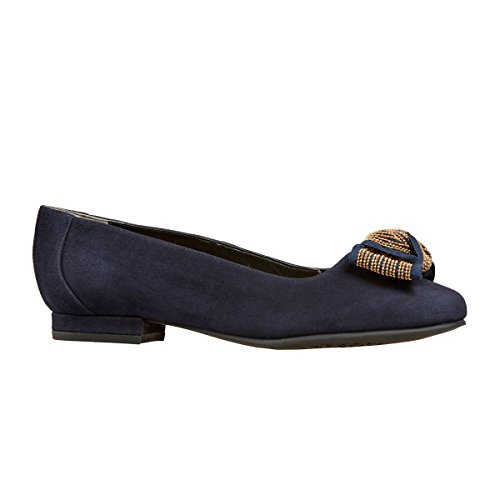 Van Dal  Meriwether,  Damen Ballett Midnight Navy (Marineblau)