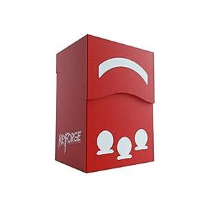 GAMEGEN!C- Keyforge Gemini Red Deck Box, Color Rojo (GGS25004)