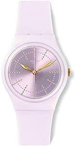 Swatch Reloj Digital de Cuarzo para Mujer con Correa de Silicona – GP148 de Swatch