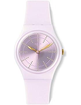 Swatch Damenuhr Digital Quarz mit Silikonarmband – GP148