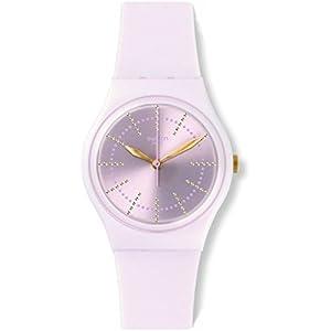 Swatch Reloj Digital de Cuarzo para Mujer con Correa de Silicona – GP148