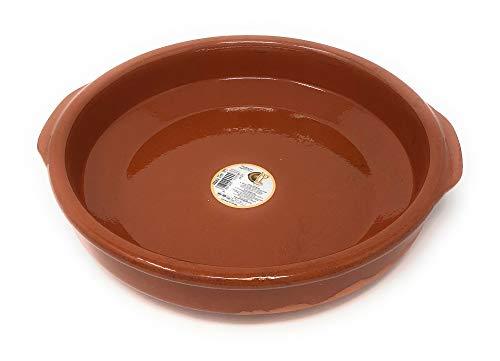 Cazuela, traditionel, flach, braun 27 cm