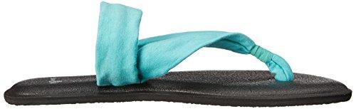 Sanuk Womens Yoga Triangle Dress Sandal Turquoise