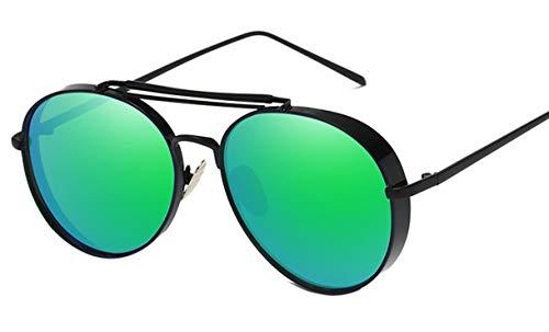 Saino Reflexionsfilte Linsen Luxus Cool Mädchen/Jungen Must-Have Reflektierend Brille Metalllegierung