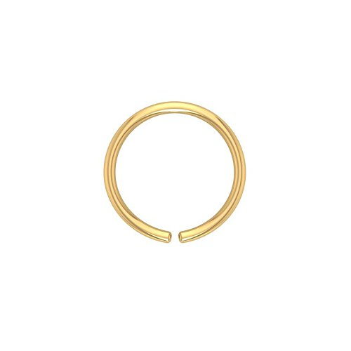 Peenzone 18K Gold Plated Nose Ring (Bali) For Women