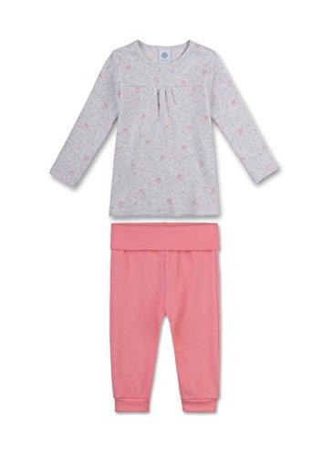 Sanetta Baby-Mädchen Zweiteiliger Schlafanzug 221343, Beige (Sand Melange 1952), 98