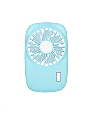 Slim Mini Fan Estudiante Bolsillo Exterior Mini USB Carga pequeño Ventilador (Color...
