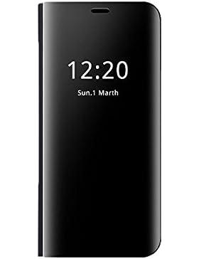 Apple iPhone 7 Plus Caso Specchio,Clear View Standing Cover Flip Case Cover Custodia Con Funzione Protecter Shell...