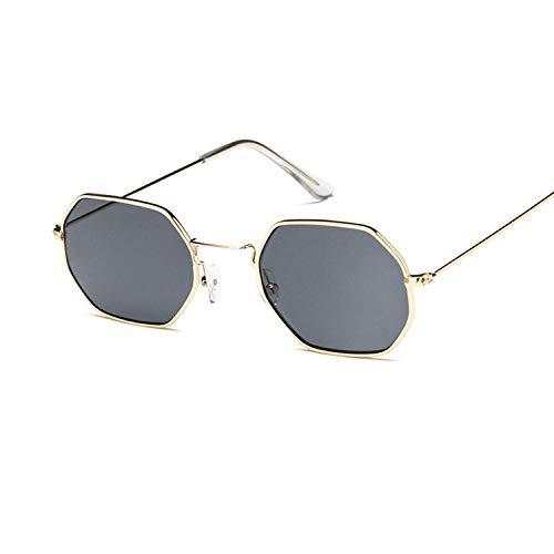 Sport-Sonnenbrillen, Vintage Sonnenbrillen, Square Sunglasses Women Retro Fashion Rose Gold Sun Glasses Brand Transparent Glasses