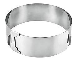 Metaltex Tortenring verstellbar Rostfrei