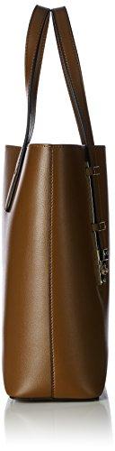 Tosca Blu Damen Golden Tea Shopper, 30x30x12 cm Braun (TAN C59)