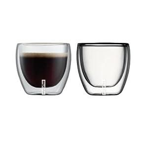 MyCoffee Double Walled Themo Espresso Glasses Set - 100ml