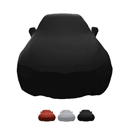 Brava Elastische (HWHCZ Autoplanen Kompatibel mit Autoabdeckung FIAT Bravo, Autohaube aus elastischem Stoff, for den Innenbereich, speziell for die Automobilausstellung (Color : C))