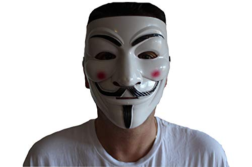 MXBrands Anonymous Maske, Vendetta Anonymus Maske Guy Fawkes -