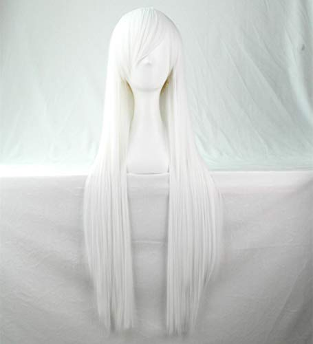 Chiguo 80cm/ 32'' Peluca Las Mujeres Pelo Largo Recta