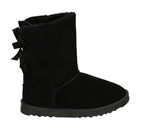 Bottes femme Noir à King 18 Shoes enfiler Of C6wpXEq