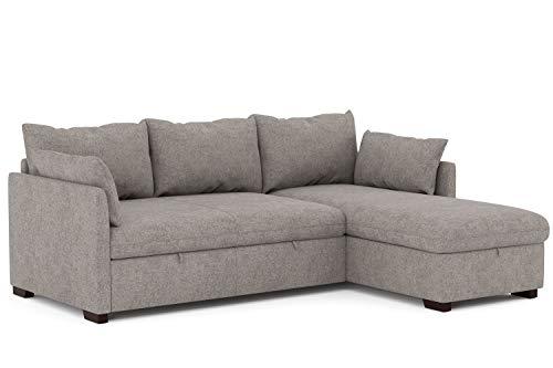 Confort24 Orlando Sofa Cama Chaise Longue Esquinero Reversible Izquierda o Derecha con...