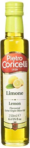 Pietro coricelli olio extra vergine di oliva aromatizzato al limone - confezione da 12 pezzi, totale: 5. 88 kg