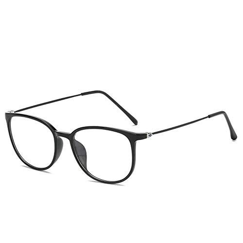 MINGMOU Ultraleichte Brillengestell Neue Ultraleichte Brillengestell Klassische Mode Koreanischen Flachspiegel Männer Und Frauen Können Mit Myopie Brillengestell Ausgestattet Werden, 3