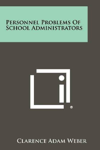 Personnel Problems of School Administrators