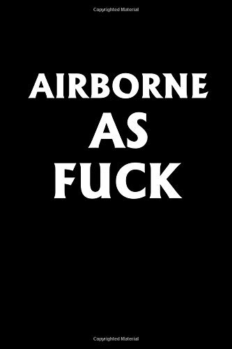 Airborne Emblem (Airborne As Fuck: Airborne As Fuck Journal)