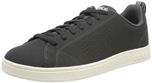 adidas Herren Vs Advantage Cl Sneaker, Grau (Grey/Footwear White/Cloud White 0), 44 - Advantage Adidas Tennis Vs