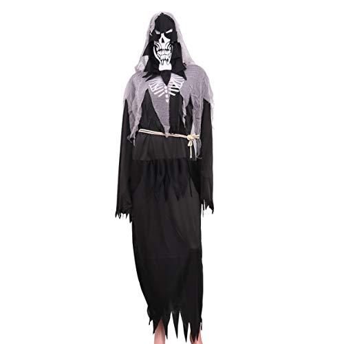STOBOK Halloween Engel des Todes Erwachsenen Leistung Requisiten spielt Cosplay Kostüm Oberbekleidung für Frauen Männer Festival (Engel Des Todes Kostüm)